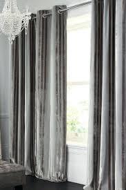 Ikea Velvet Curtains Velvet Curtains Grey Crushed Velvet Fully Lined Ring Top Curtains