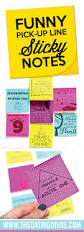 funny pick up line sticky notes the dating divas