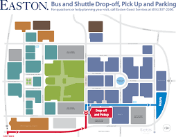 easton map drop parking easton columbus oh