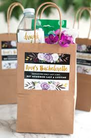 bachelorette gift bags bachelorette hangover kit weddings ideas from evermine