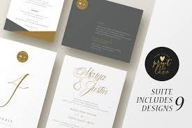 wedding invitation suite leganto invitation templates