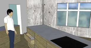 the old swede march 2012 kitchen in google sketchup