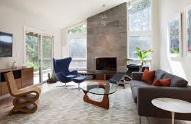 comfortable mid century modern living room ideas architecture