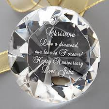 personalized paper weight gifts personalized diamond paperweight gifts for