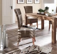 chaise tress e lot 2 chaises en rotin tressé collection salsa chaise chaise