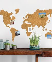 take a look at this world map corkboard wall decal today ad