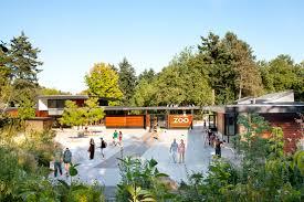 Zoo Lights Woodland Park Zoo by Woodland Park Zoo West Entry Weinstein Au Architects Urban