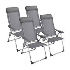 chaises pliables superbe lot chaise cing pliante avec coussin 4x chaises pliables