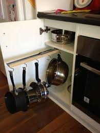 kitchen pan storage ideas the counter pull out pots and pans rack pot rack kitchens
