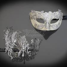 silver masks s masquerade masks for men and women free shipping