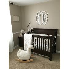 Madison Pottery Barn Crib Pottery Barn Kids Larkin Crib And Swan Rocker Tan And White