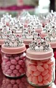 diy baby food jar princess crown party favors baby jar favors