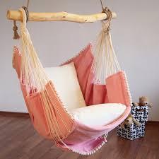 u20ac 260 00 hammock chair pink white cushion