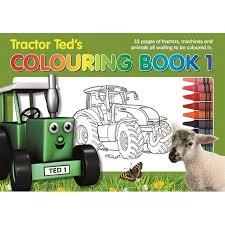 tractor ted u0027s children u0027s colouring book 1 bkcol farm toys