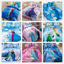 Frozen Comforter Set Full Wholesale Brand New Cotton Frozen Bedding Set Alsa Anna Single