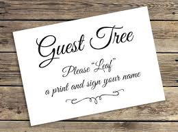 tree signing for wedding printable fingerprint tree guestbook sign wedding baby shower
