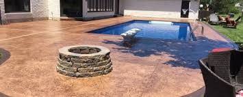 stamped concrete pool deck archives e u0026 j concrete and dirt work