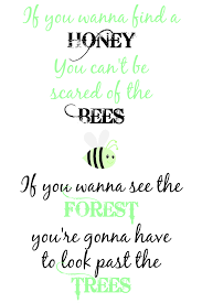 craft a spell honey bee free printable