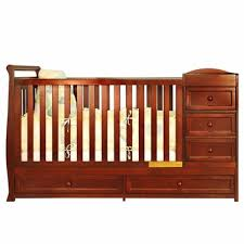 Convertible Crib And Changer Combo Afg Athena I 2 In 1 Convertible Crib And Changer Combo In