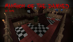 Minecraft Pe How To Download Maps Mansion Of The Damned Adventure Horror Warning Minecraft Pe