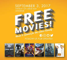 free drive in movies on sunday september 3rd in glendale