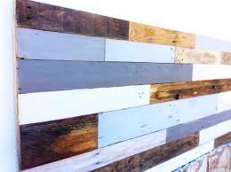 Wood Pallet Headboard Diy Reclaimed Wooden Pallet Headboard U2013 Mediterranean Driftwood