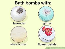 how to use a bath bomb with pictures wikihow