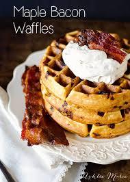 thanksgiving waffle recipe maple bacon waffle recipe ashlee marie
