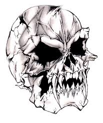 simple evil tattoo pictures of skulls beautifully pictured on digital photo club