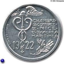chambre de commerce alpes maritimes 10 centimes alpes maritimes notgeld numista
