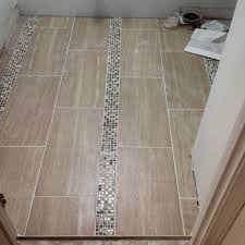 12 x 24 tile bathroom floor