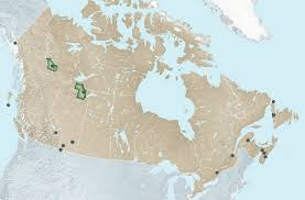Map Of Canada Provinces by Mapping Canada U0027s 16 Unesco World Heritage Sites