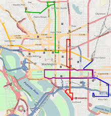 Map Dc Dc Circulator Map My Blog
