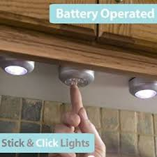Under Kitchen Cabinet Lighting Led by Battery Operated Under Cabinet Lights Ebay