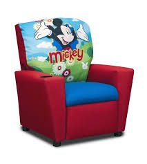 kidzworld disney u0027s mickey mouse clubhouse kids cotton recliner