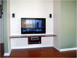 floating shelves wall mount tv