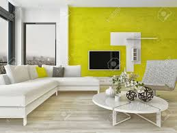modern design living room interior with nice furniture and fancy