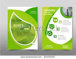 wonderful green flyer templates