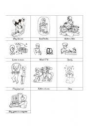 english teaching worksheets leisure time activities