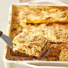 and vegetable lasagna