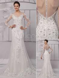 wedding dress illusion neckline lace illusion neckline sleeves knee length sheath wedding