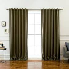 Chocolate Curtains Eyelet Brown Blackout Curtains U2013 Teawing Co