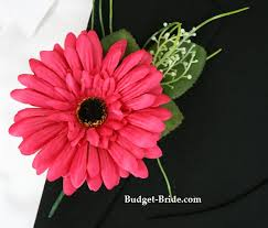 corsage and boutonniere prices gerber corsages azalea gerbera boutonniere