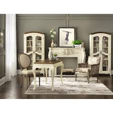 Dining Room Desk by Home Decorators Collection Provence Ivory Writing Desk With Ash
