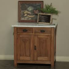 antique french art deco walnut marble top cabinet inessa