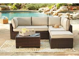 signature design by ashley outdoor patio loveseatsec otto tbl set 4