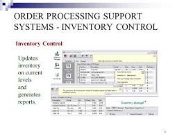Inventory Control List Transaction Processing Ppt Video Online Download