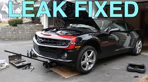 5th generation camaro 5th generation camaro 2ss 6 2 liter cooler leak easy fix