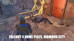 fallout 4 home plate diamond city youtube