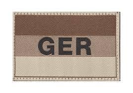 Flag Com Germany Flag Patch Desert Identifikation Equipment Clawgear